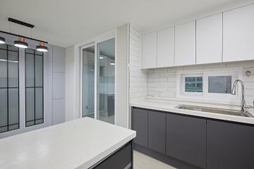 심플함과 실용성을 만족시킨 30평대 아파트 30평대,30평,남양주시,호평동