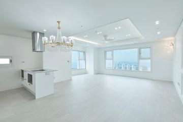 아름다운 공간과 아름다운 바다 뷰, 40평대 아파트 40평대,45평아파트,연수구,송도동