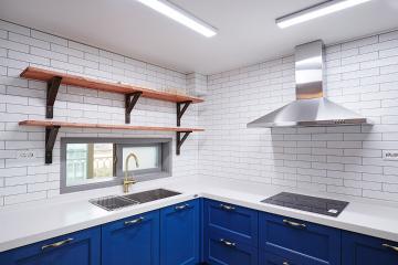 블루톤으로 변신한 32평 심플 아파트 인테리어 32평,블루,모던,아파트,파주시,비포애프터,Before&After