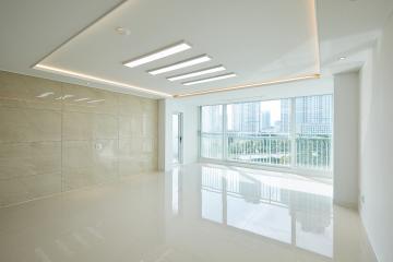 햇살 좋은 날엔 폴리싱 타일의 매력이 돋보인다. 40평대 아파트 40평대,46평,인천,연수구,송도동