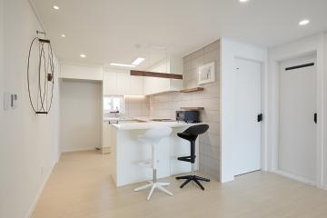 웜톤으로 꾸며진 아늑한 공간, 30평대 아파트 30평대,31평,고양시,덕양구,행신동