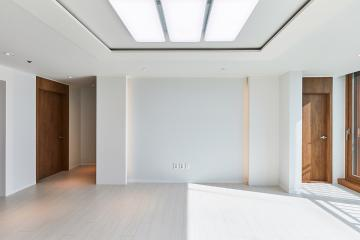 거실은 환하게 욕실은 빈티지하게 꾸민 40평대 아파트 영등포구,당산동,40평대,41평