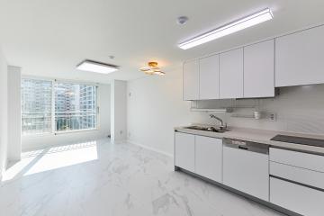 섬세한 마감과 심플한 인테리어가 돋보이는 20평대 아파트 용산구,이촌동,20평대,25평