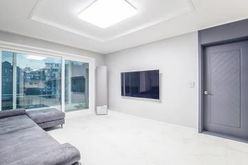 그레이톤의 모던함과 은은함이 느껴지는 편안한 30평대 주택 30평대,35평,동대문구,휘경동