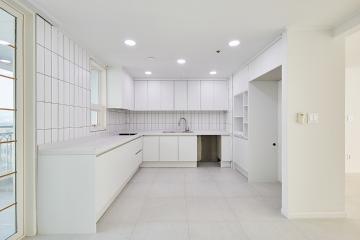 모던함과 내추럴한 스타일의 40평대 아파트 40평대,49평,용인시,기흥구,보정동