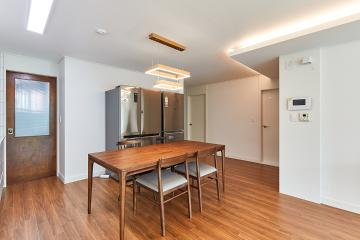 원목의 포근함과 화이트의 모던함, 30평대 아파트 도봉구,방학동,30평대,34평