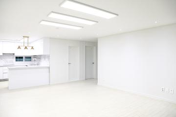 심플하고 세련된 모던 클래식 화이트, 30평대 아파트 30평대,33평,시흥시,장곡동