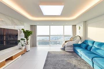 내추럴한 공간, 모던한 가구, 클래식한 분위기의 40평대 아파트 동작구,신대방동,40평대,49평