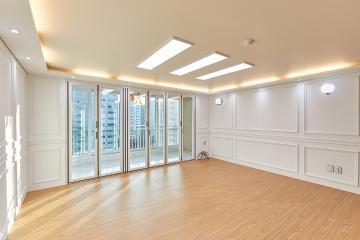 클래식한 분위기 속 골드 포인트가 곳곳에, 30평대 아파트 안산시,단원구,초지동,30평대,37평