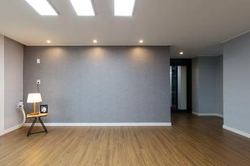 모던한 화이트&그레이의 느낌이 담긴 40평대 아파트 40평대,47평,인천,미추홀구,관교동