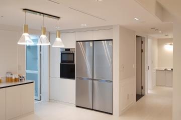 마음이 편안해지는 화이트톤의 30평대 아파트 30평대,38평,용인시,수지구,동천동
