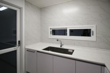 모던하고 심플한 그레이톤의 분위기, 30평대 아파트 30평대,34평,인천,연수구,송도동
