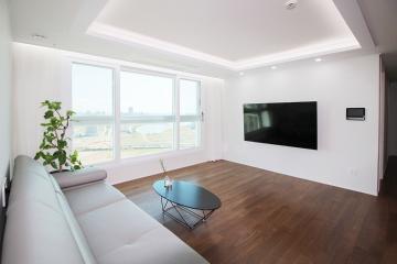 유니크한 감성을 담은 따뜻한 인테리어, 30평대 아파트 30평대,34평,인천,연수구,송도동