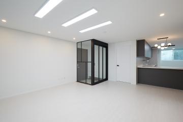 질리지 않는 화이트&블랙 톤으로 꾸민 30평대 아파트 30평대,32평,동작구,상도동