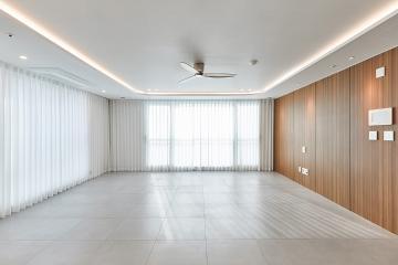 깔끔하게 몰딩과 문선을 없앤 트렌디 하우스, 30평대 아파트 화성시,청계동,동탄,30평대,39평