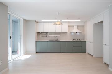 깨끗한 첫인상으로 맞이하는 40평대 아파트