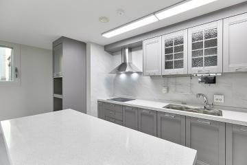 그레이 톤으로 안정감있게 재탄생된 30평대 아파트 서대문구,북가좌동,30평대,32평