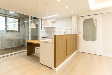 ㄱ자형 주방이 포인트! 30평대 아파트 30평대,30평,광명시,소하동