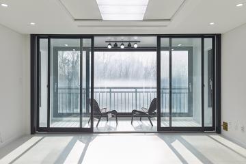 잘 어우러진 블랙&화이트&모던, 30평대 아파트 인천,서구,원당동,30평대,34평