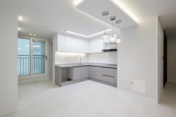 거실과 주방에서 매력을 느낄 수 있는 40평대 아파트 40평대,40평,인천,남동구,서창동