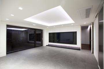 갤러리 같은 미니멀한 100평대 단독 주택 종로구,평창동,100평대,100평