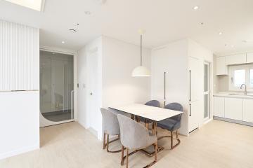 템바보드와 화이트&골드로 꾸민 20평대 아파트 영등포구,당산동,20평대,25평