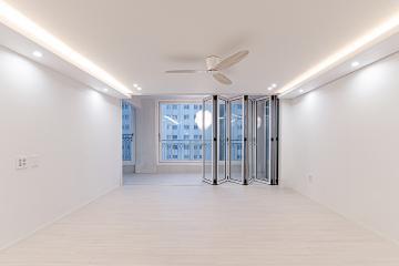 실링팬과 조명으로 포인트를 준  30평대 아파트 30평대,30평,광명시,광명동
