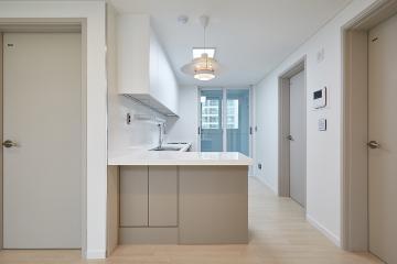 실용성 있게 바뀐 화이트&그레이 톤의 20평대 아파트 20평대,24평,성북구,하월곡동