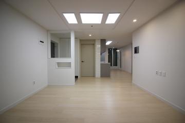 화이트&그레이 톤으로 가벼우면서도 무게감 있는 아파트 20평대,25평,송파구,가락동