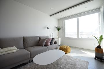 내추럴 느낌 가득한 거실이 돋보이는 아파트 20평,25평,금천구,가산동
