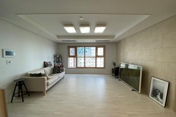 고흐의 그림이 잘 어울리는 명화같은 집 60평,60평대,푸르지오,송도,아트윈,화이트인테리어