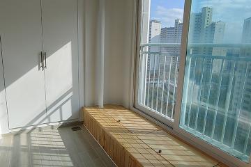 평상 있는 거실, 풍경을 즐기는 우리집 35평,30평대,대전,유성구,하기동