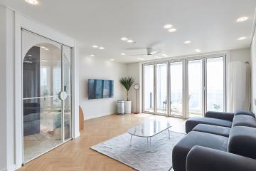 트렌디한 현관과 소품의 매칭이 돋보이는 공간 30평대,31평
