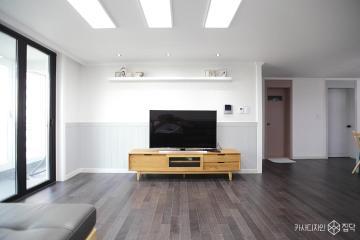 심플하고 러블리한 느낌의  32평 신혼집 아파트 인테리어 32평,신혼집,그레이,아파트,안양시