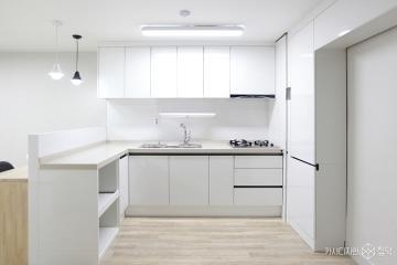 심플하고 깨끗한 화이트톤의 25평 아파트 인테리어 25평,심플,화이트,아파트,성남시