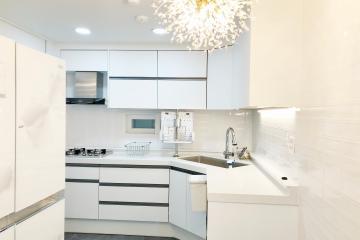 공간활용도높은 화이트미니멀 26평아파트 인테리어  화이트,심플,수납력강화