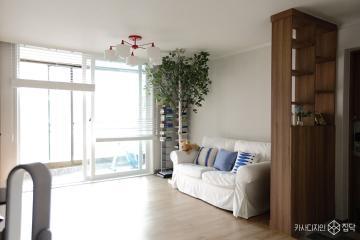 수납공간으로 더 넓어보이는 신혼집, 23평 아파트 인테리어 23평,화이트,심플,아파트,안양,로맨틱신혼집,스타일링
