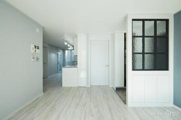그레이와 블랙으로 모던하게 꾸민 24평 아파트 인테리어 24평,화이트,모던,아파트,파주