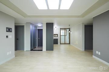 그레이톤으로 모던한 느낌을 준 34평 아파트 인테리어 34평,그레이,모던,아파트,파주시