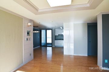 내츄럴 모던스타일로 완성된 4인가족의 주거공간 32평 아파트 인테리어 32평,내츄럴,우드,아파트,인천