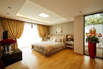 세미 클래식과 모던함이 공존하는 80평 고급 주택 인테리어