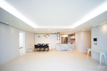 깨끗하고 고급스러움이 묻어나는 64평 럭셔리 인테리어 60평,럭셔리,화이트,아파트,영등포구,한강,