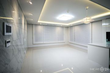 럭셔리 화이트 컬러로 고급스러움을 연출한 32평 아파트 인테리어 32평,럭셔리,화이트,아파트,인천