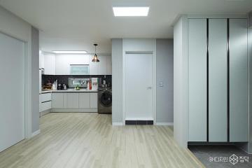 오래된 주택을 그레이 모던으로 리모델링, 26평 주택 인테리어 26평,모던,그레이,주택,중구