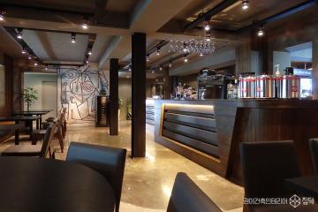 건축, 예술을 담다. 150평 이탈리안 레스토랑 인테리어