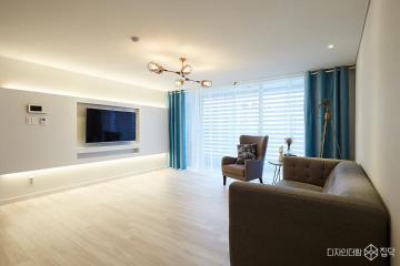 지치고 힘들땐 우리 집에 놀러와  33평,모던,아이보리,아파트,논현동