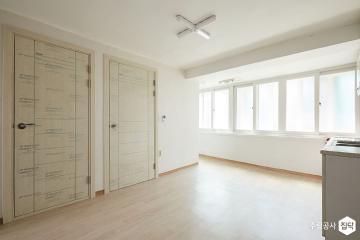 변신에 필요한 시간, 단 4일 25평,내츄럴,주택,화이트,양천구