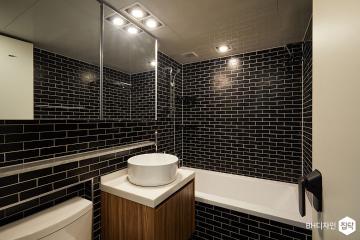 흑자(黑瓷)를 보다 34평,모던,블랙,아파트,연희동